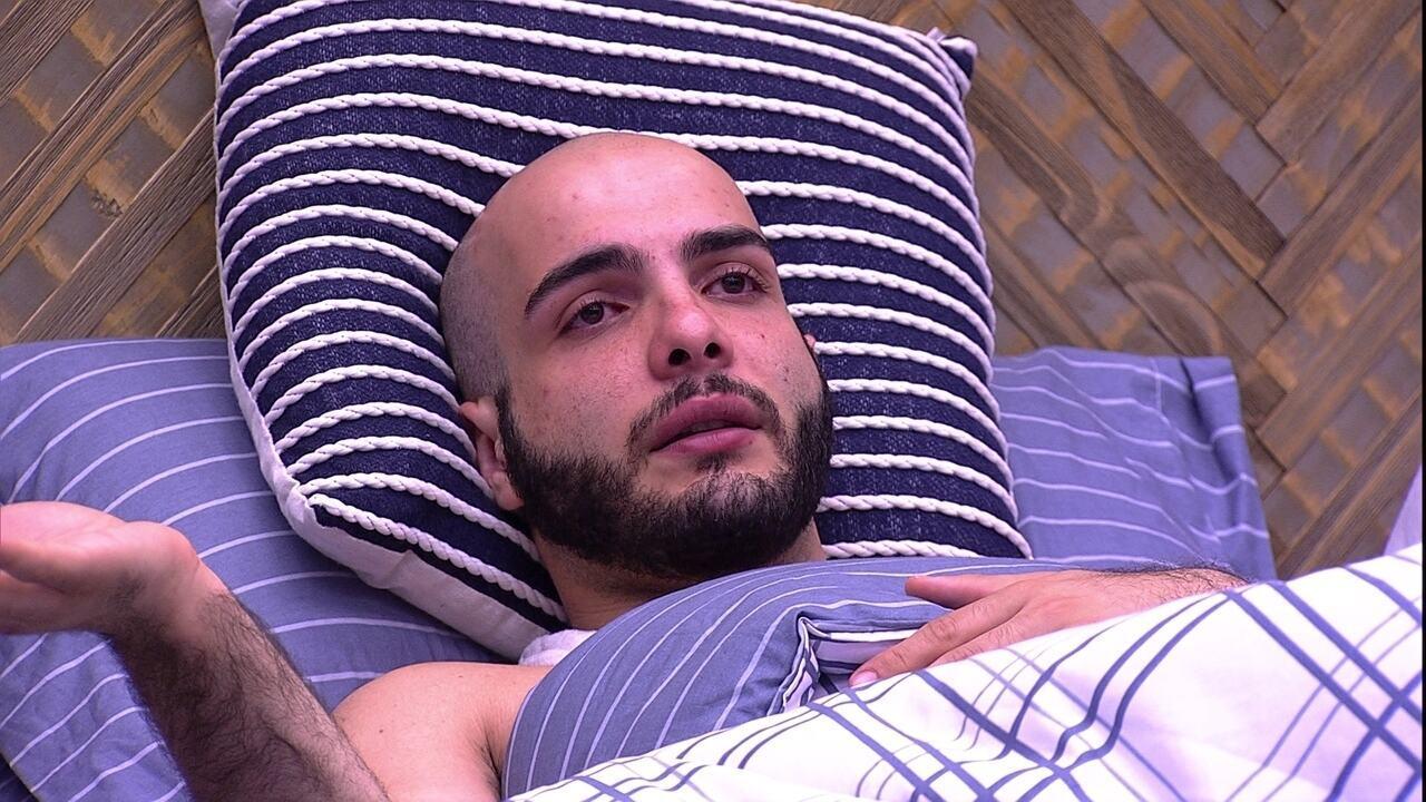 Mahmoud chora ao falar de Lucas: 'Vejo isso como uma injustiça'