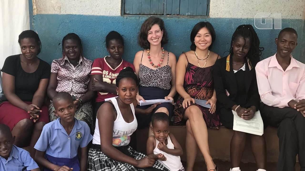 Psicóloga brasileira mora em Uganda para ajudar a transformar escola da zona rural