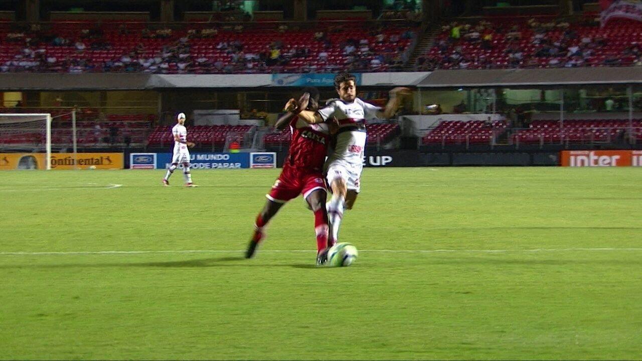 Melhores momentos: São Paulo 2 x 0 CRB pela 3ª fase da Copa do Brasil
