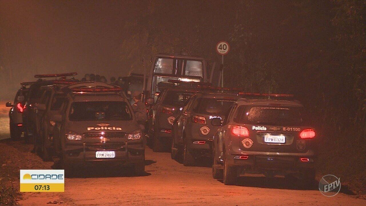 Sete suspeitos de explodir caixas eletrônicos são mortos em Campinas após tiroteio, diz PM