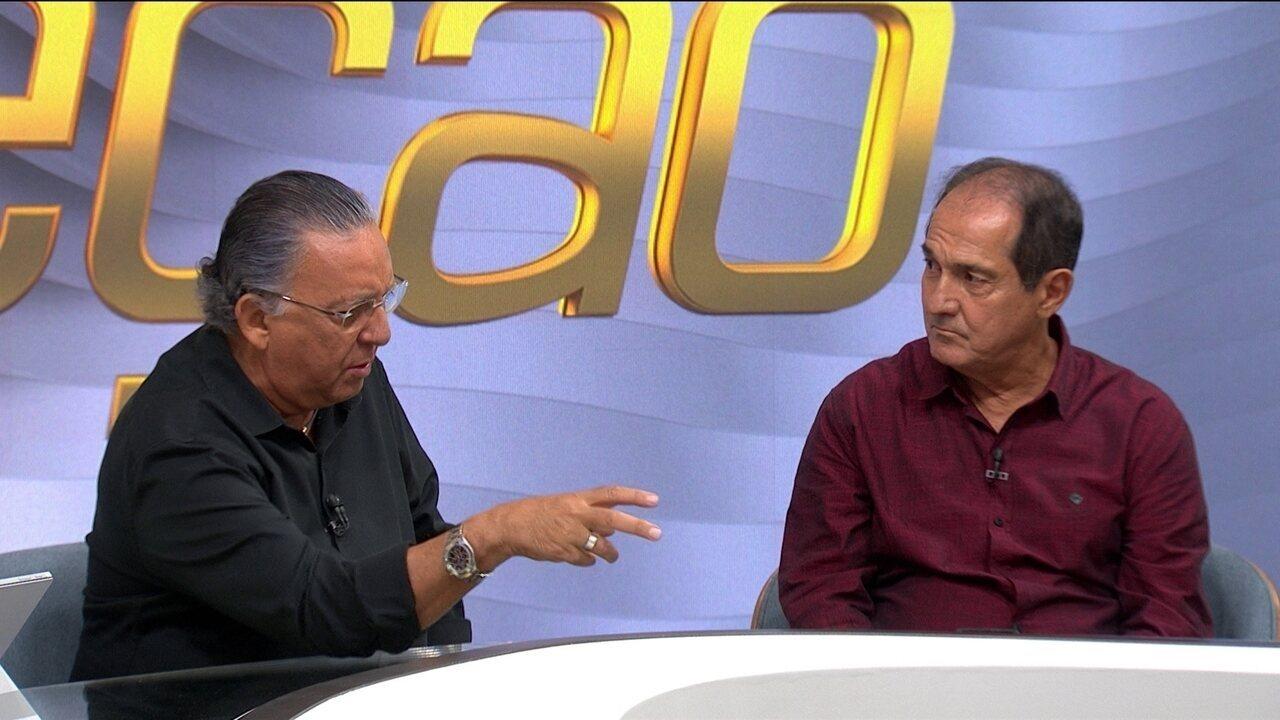 Galvão Bueno e Muricy falam sobre Rogério Ceni