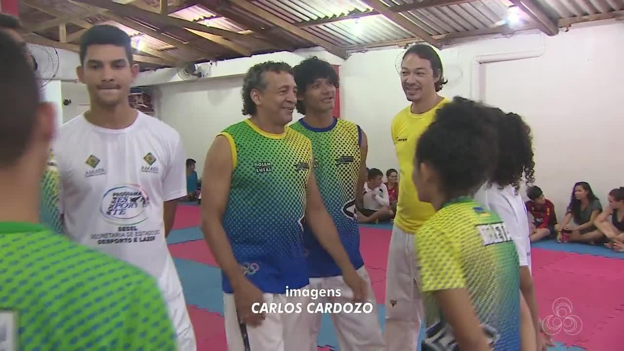 Delegação de taekwondo conquista duas medalhas no Grand Slam, no Rio de Janeiro