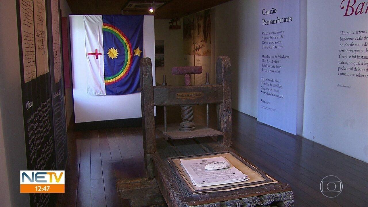 Feriado da Data Magna relembra história da Revolução Pernambucana de 1817