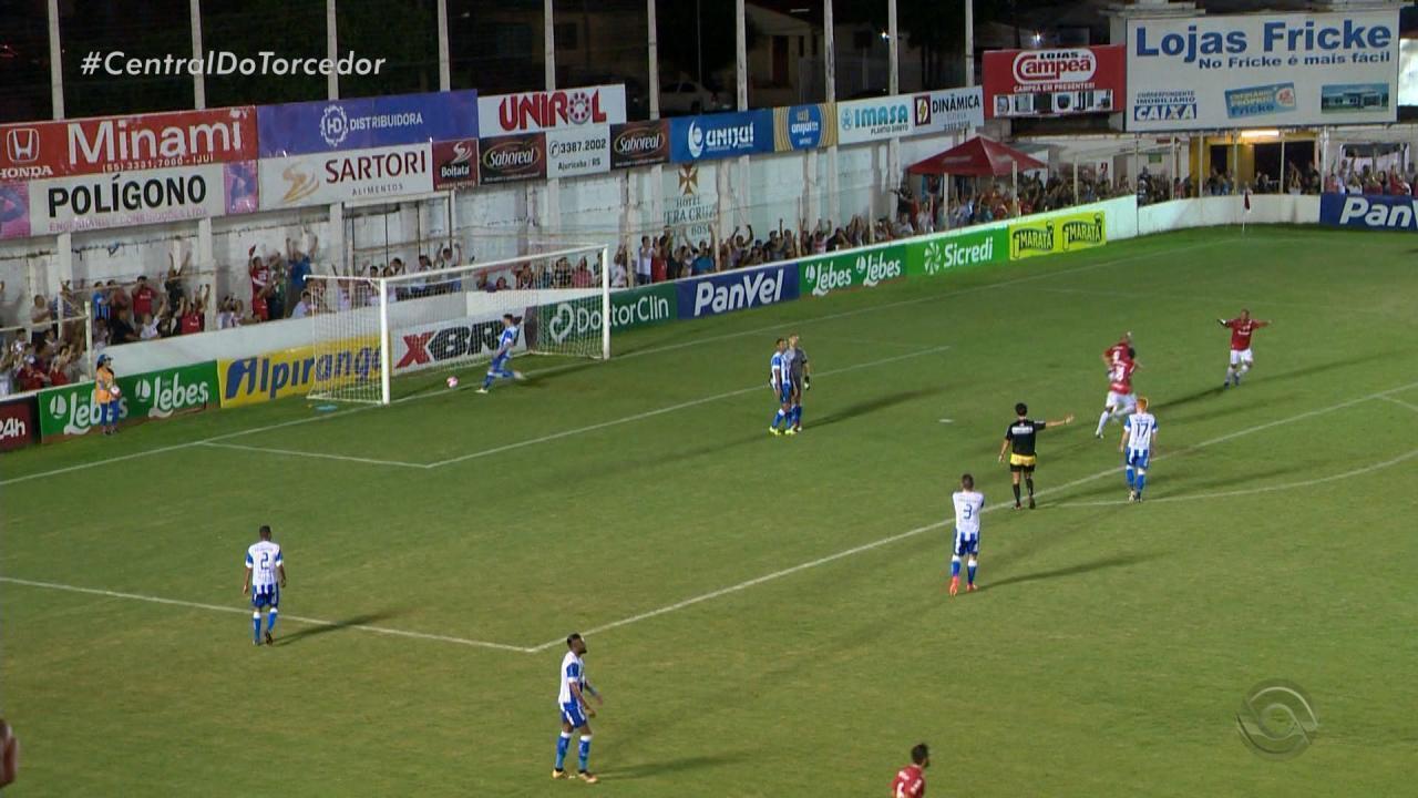 São Luiz goleia Cruzeiro-RS por 4 a 1 na abertura da 10ª rodada