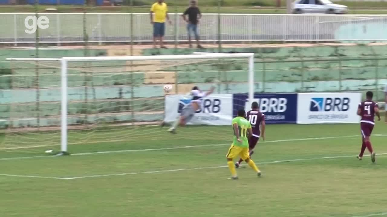 Os gols de Samambaia 2 x 2 Santa Maria pelo Campeonato Brasiliense 2018