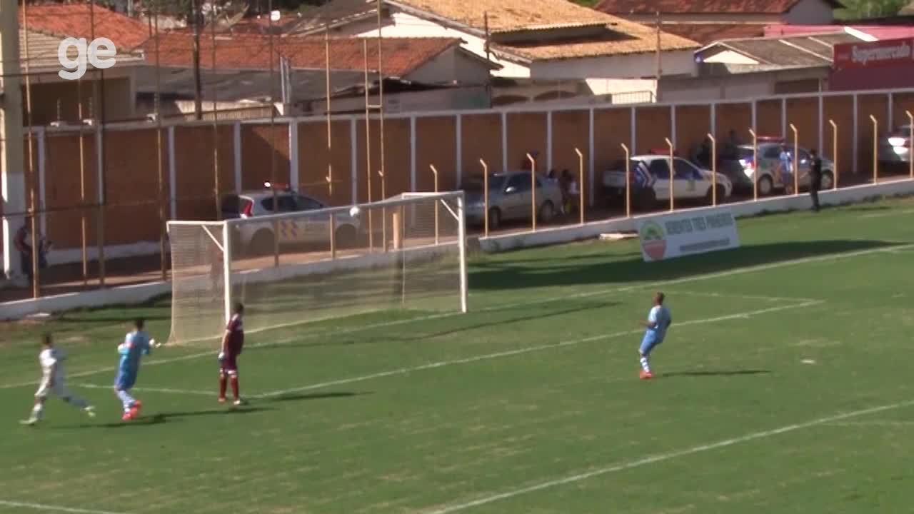 O gol de Formosa 1 x 0 Bolamense pelo Campeonato Brasiliense 2018