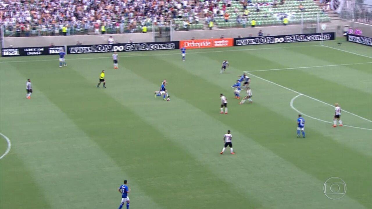Gols do Fantástico: Cruzeiro vence clássico contra o Atlético-MG
