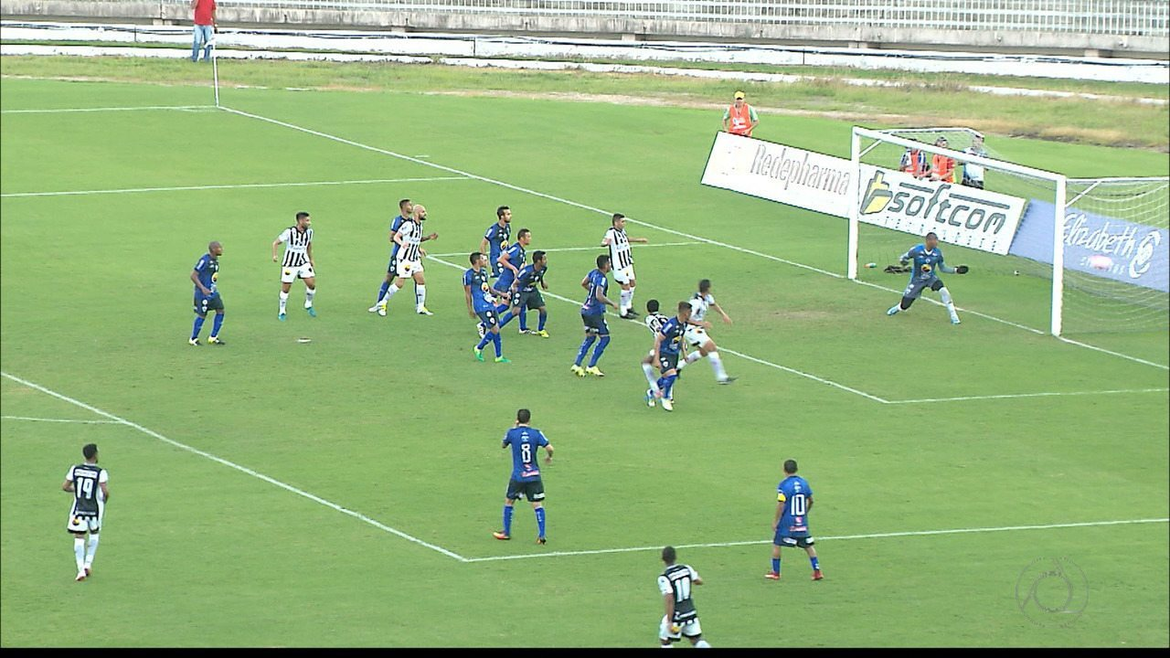 Confira os lances de Botafogo-PB 4 x 1 Atlético-PB