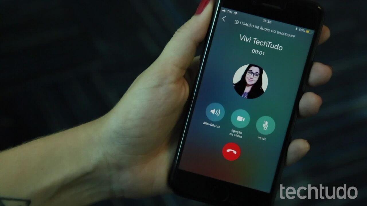 WhatsApp permite alternar entre chamadas de voz e vídeo sem desligar