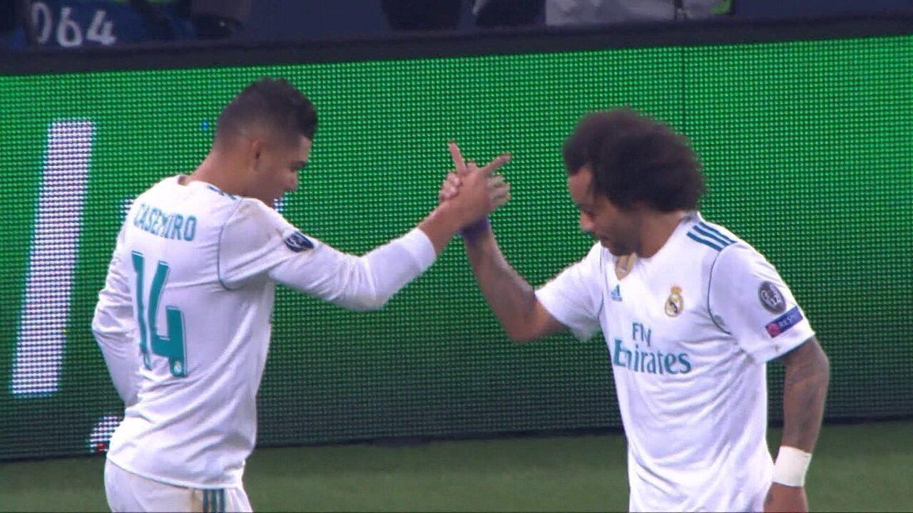 Os gols de PSG 1 x 2 real Madrid pelas oitavas da liga dos Campeões da UEFA