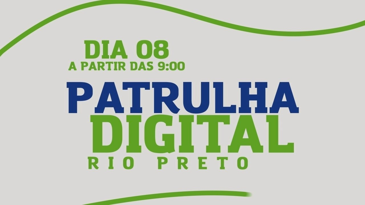 Patrulha digital passa por bairros de Rio Preto
