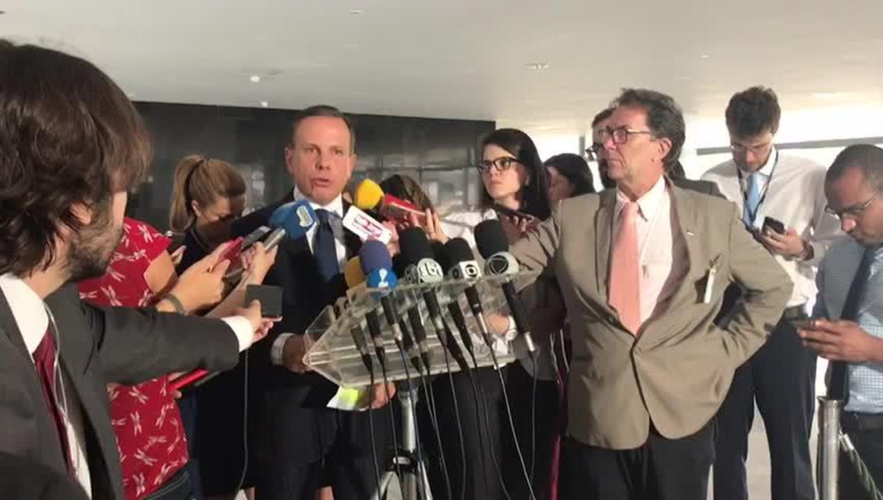 Doria volta atrás e altera decreto que garante segurança a ex-prefeitos