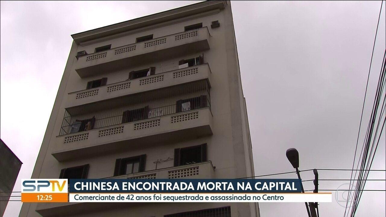 Chinesa é encontrada morta na região central de São Paulo