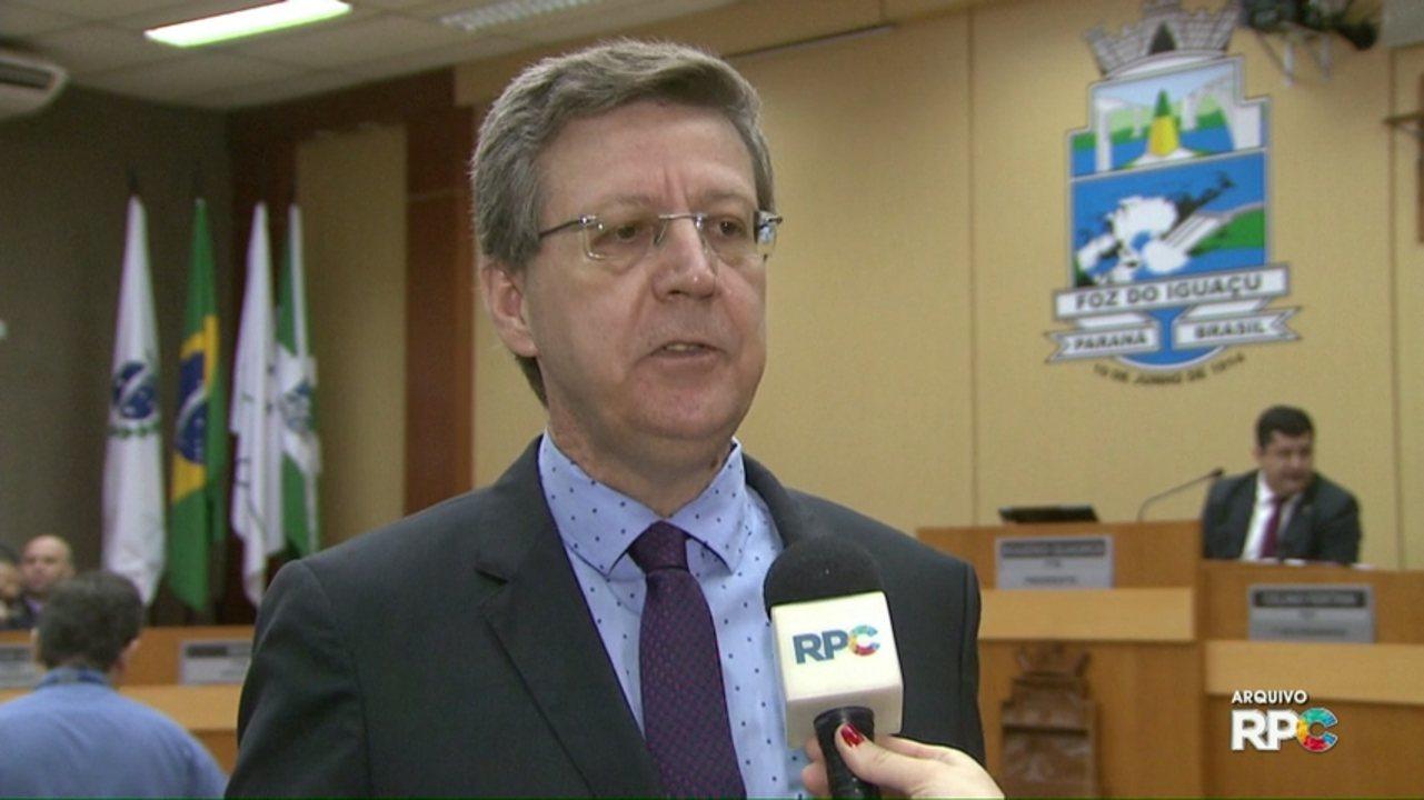 Vereador de Foz do Iguaçu Dr. Brito renuncia ao cargo