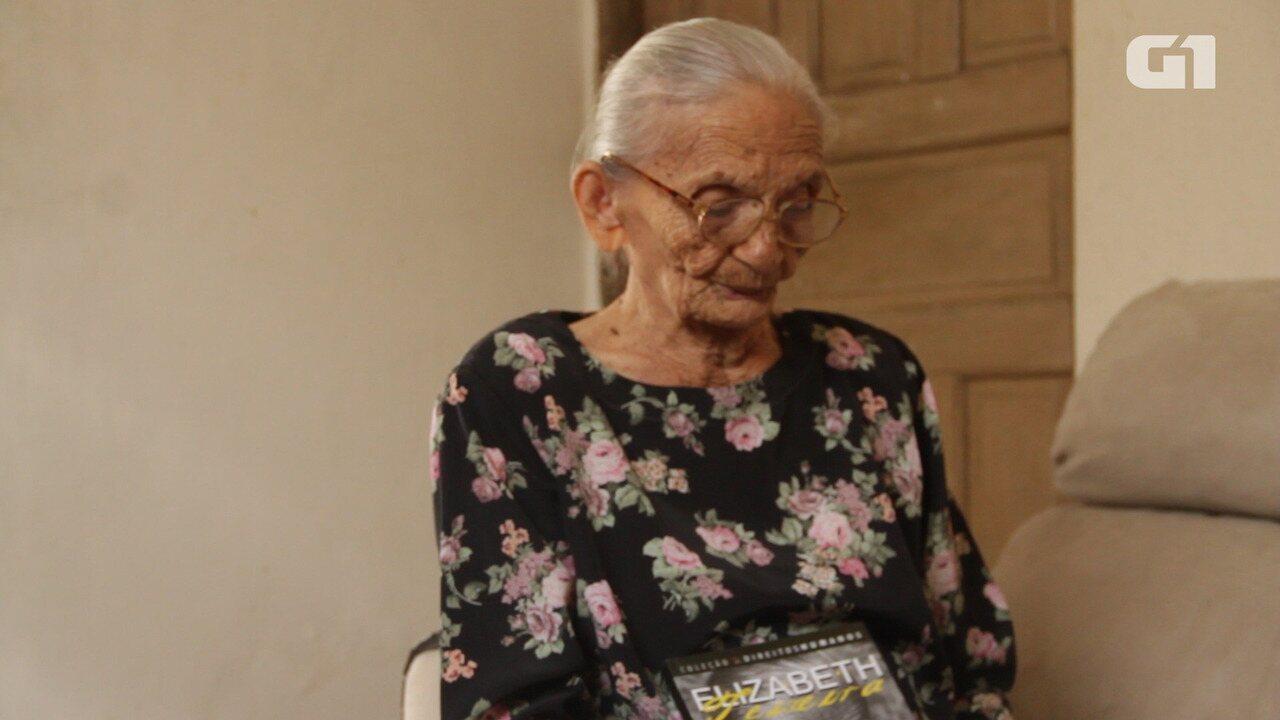 Elizabeth Teixeira fala de histórico político e luta no campo