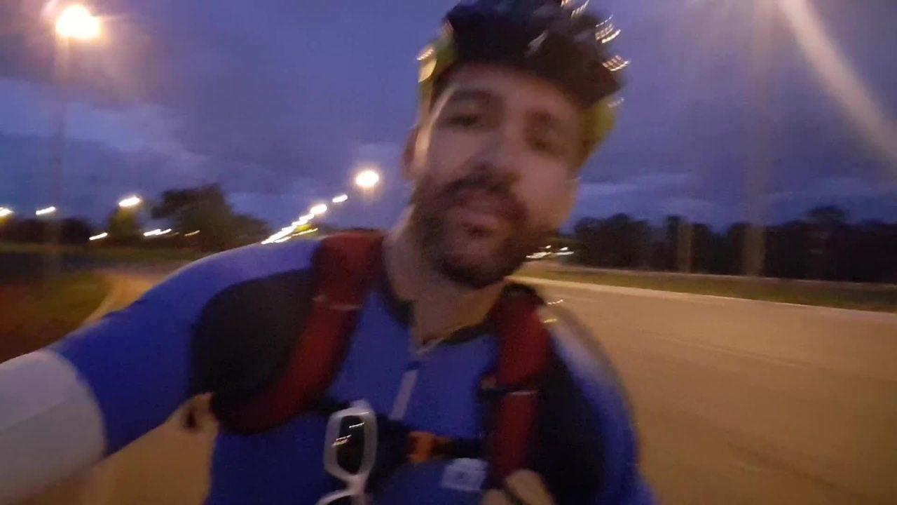 Ciclista do Distrito Federal pedalaram de Vicente Pires até Formosa