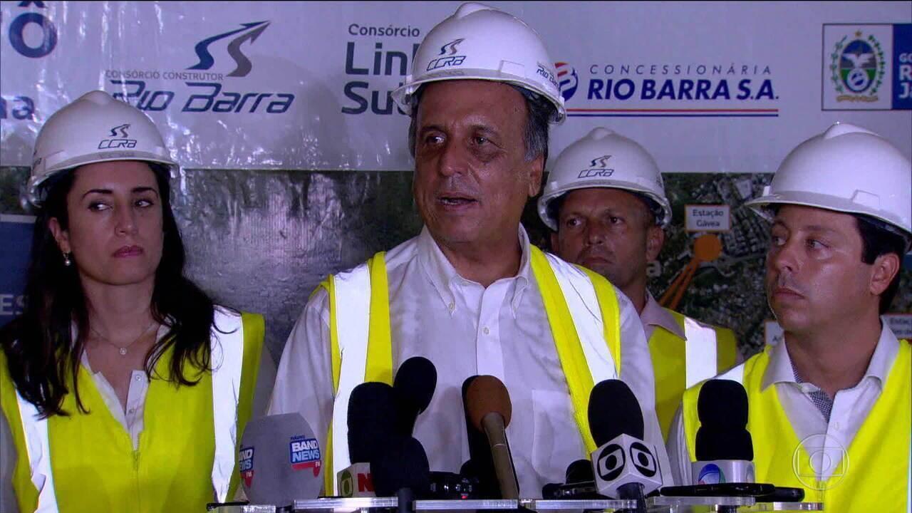 Pezão diz que crise afetou investimento na saúde