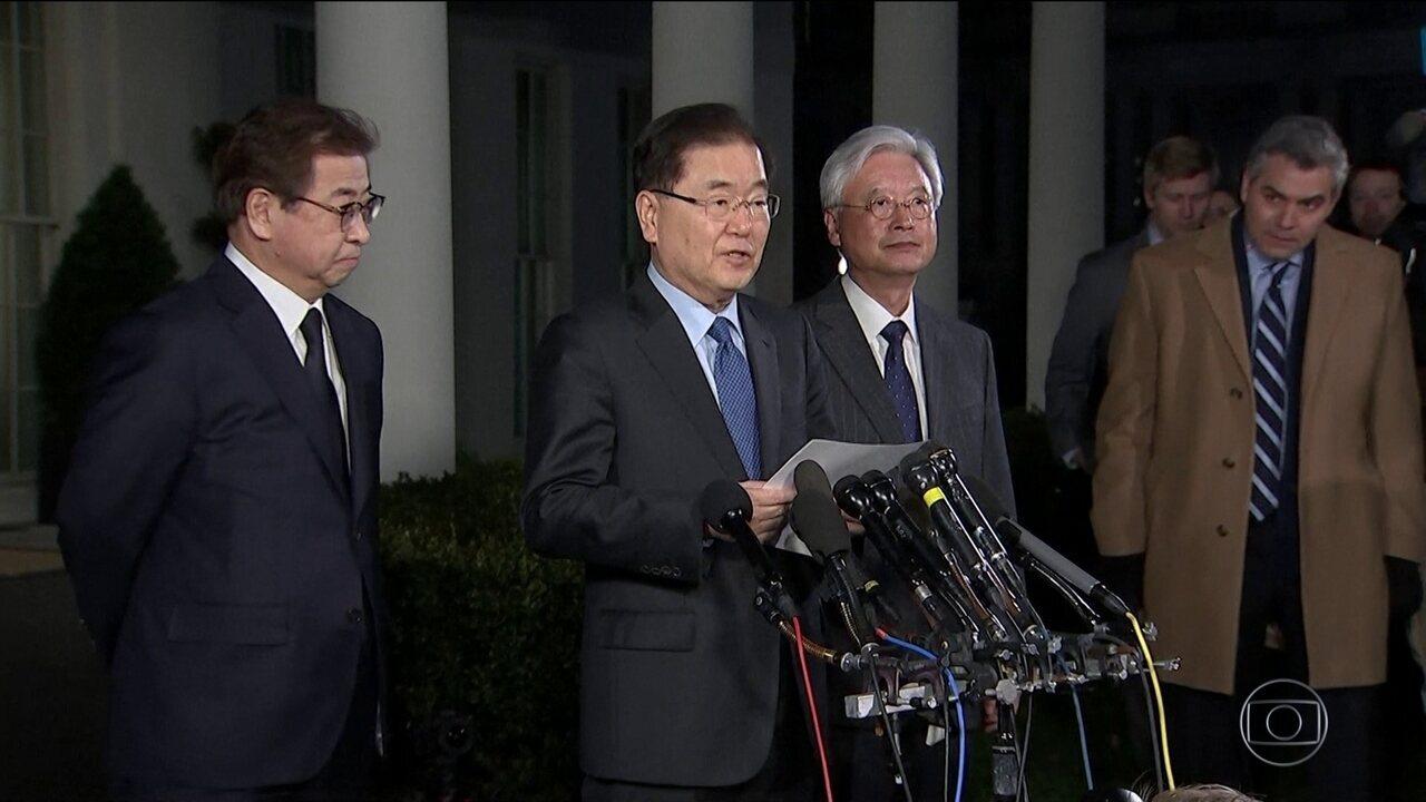 Donald Trump e Kim Jong-Un terão encontro histórico para discutir programa nuclear