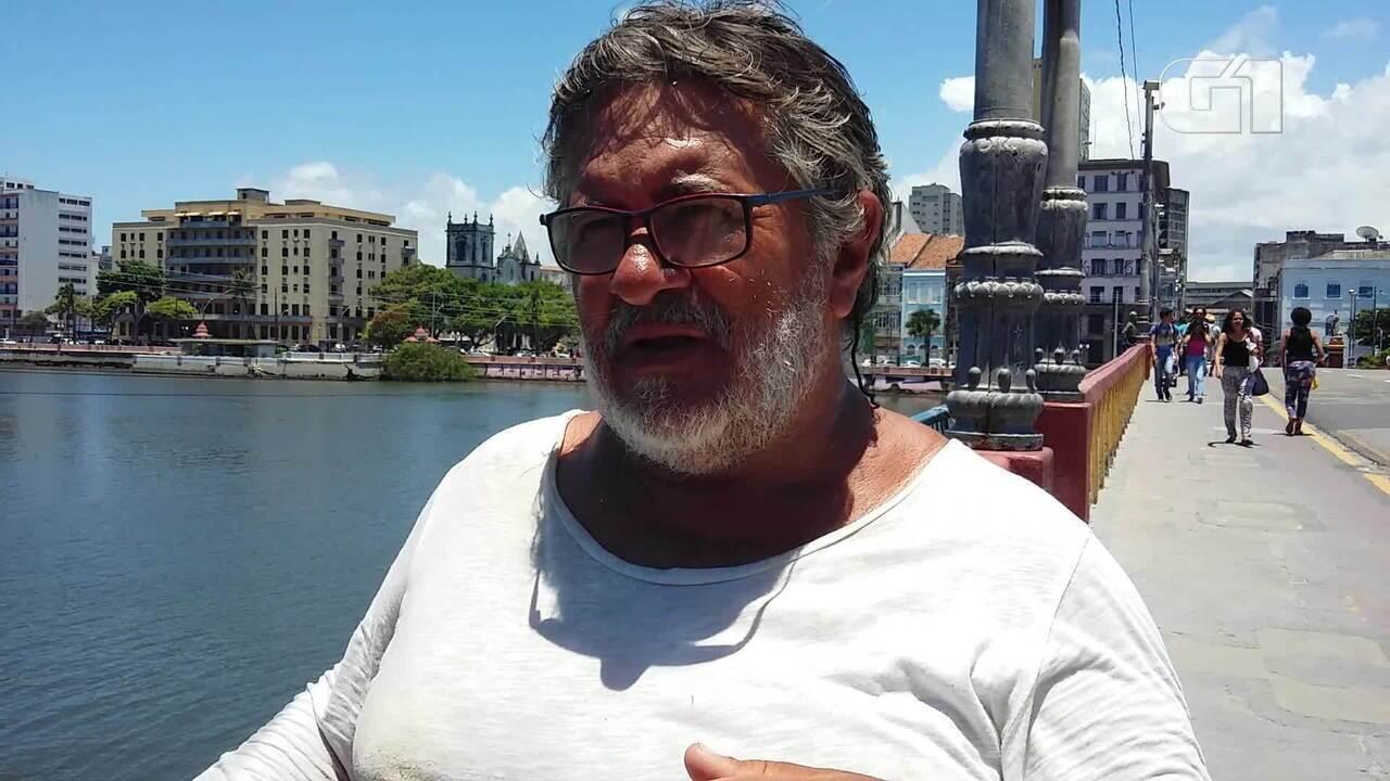 Morador do Recife relembra lugares preferidos e relata mudanças na cidade