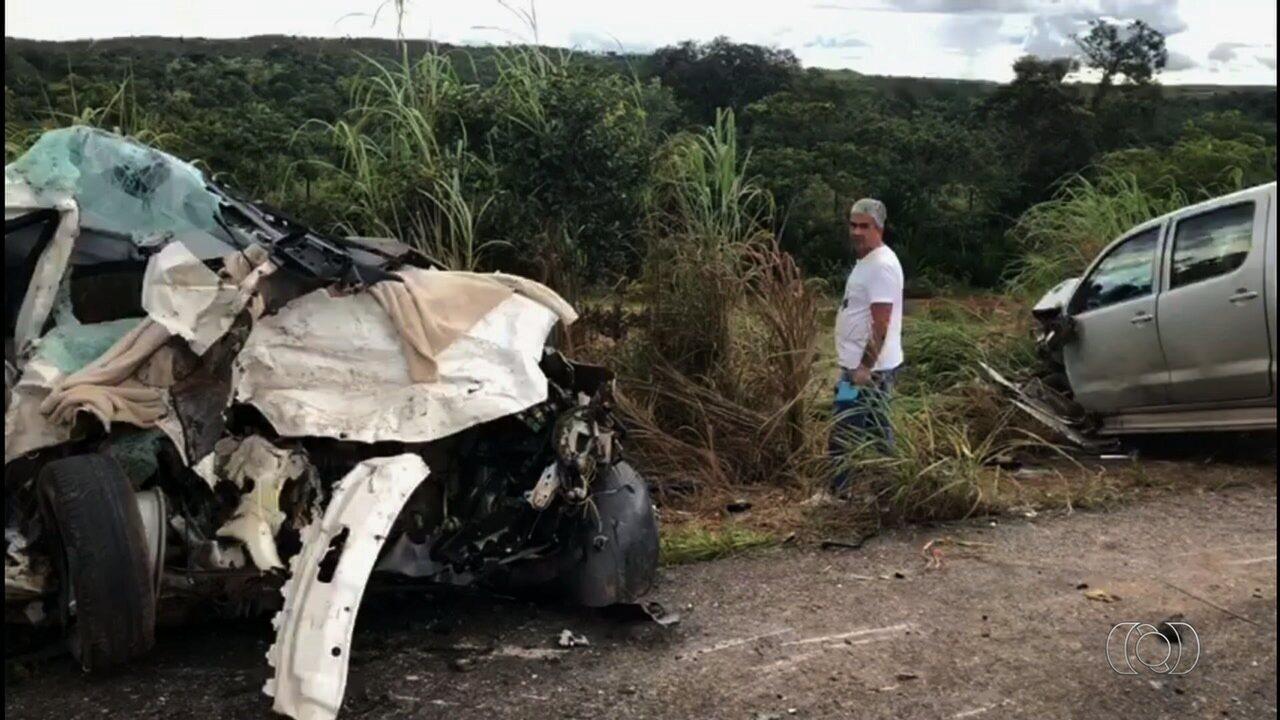 Acidente deixa 4 mortos na BR-070, em Cocalzinho de Goiás