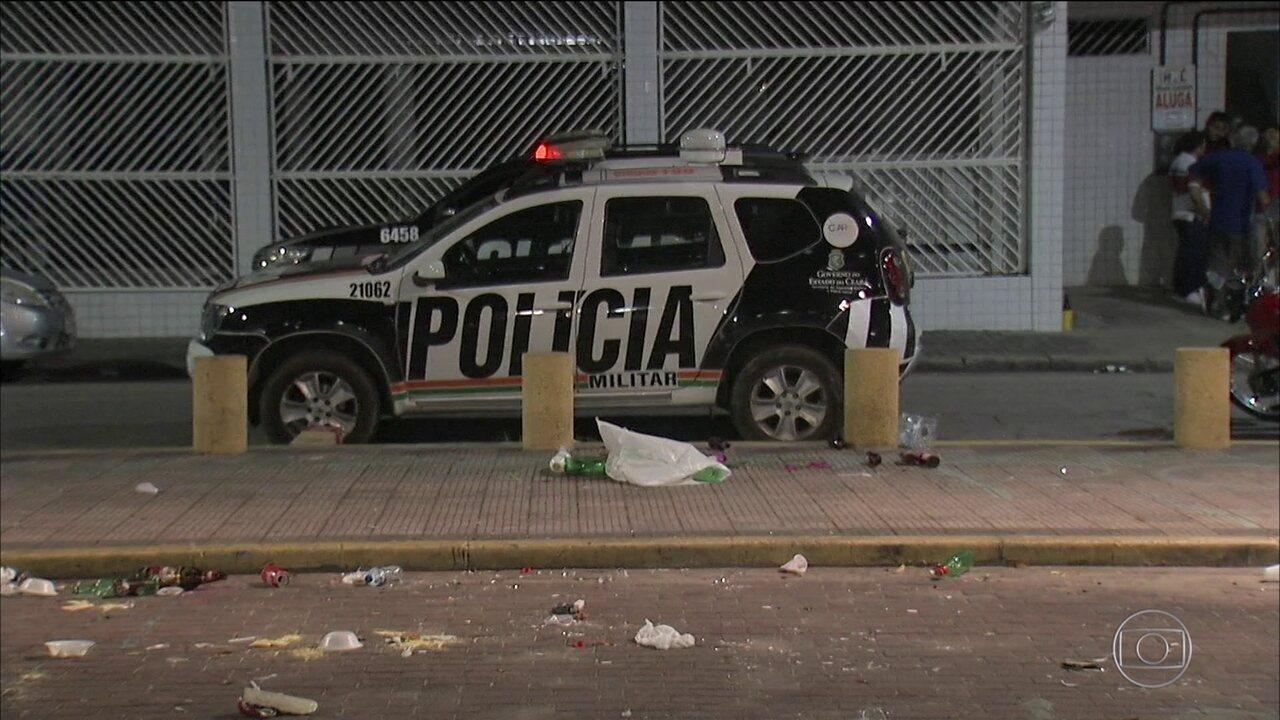 Ataques simultâneos deixam sete mortos e quatro feridos em Fortaleza