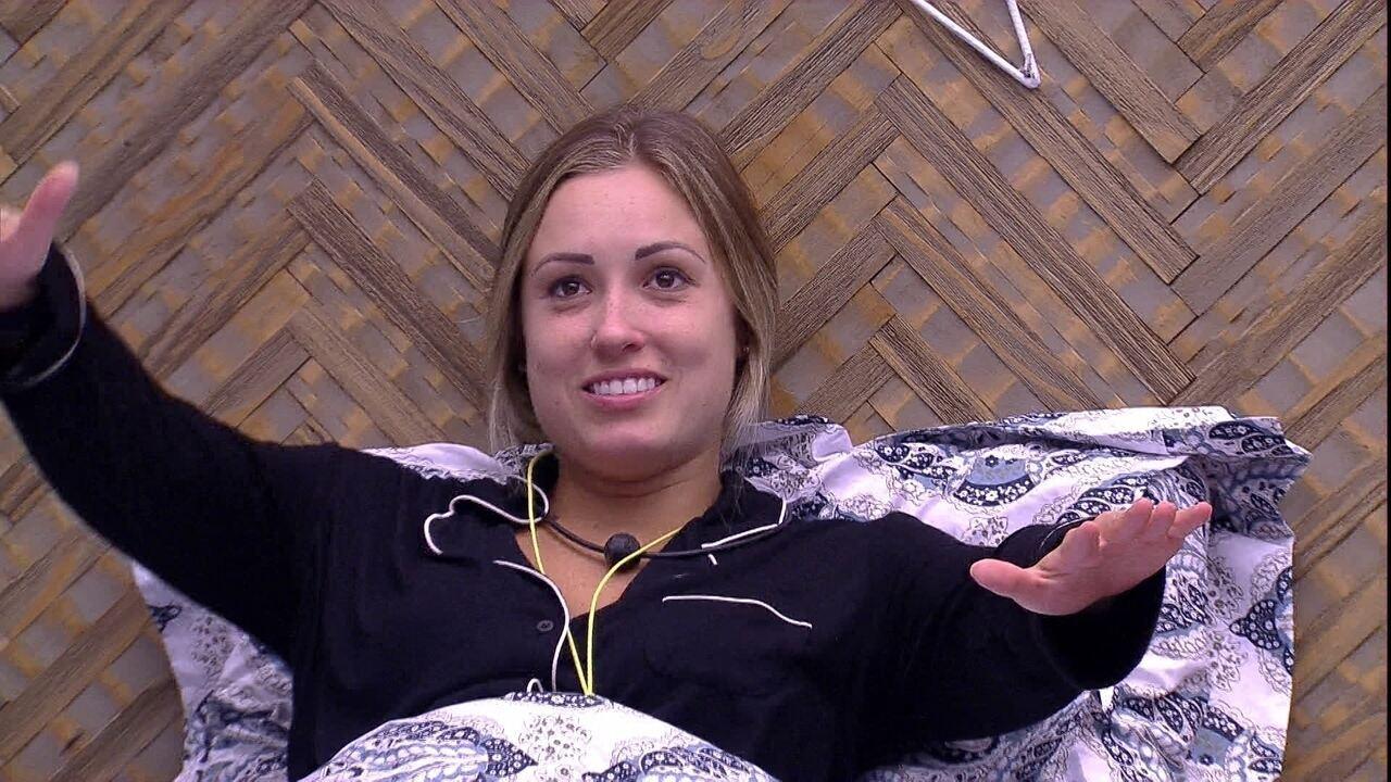 Jéssica comemora sobre Breno: 'Close nele, Brasil'