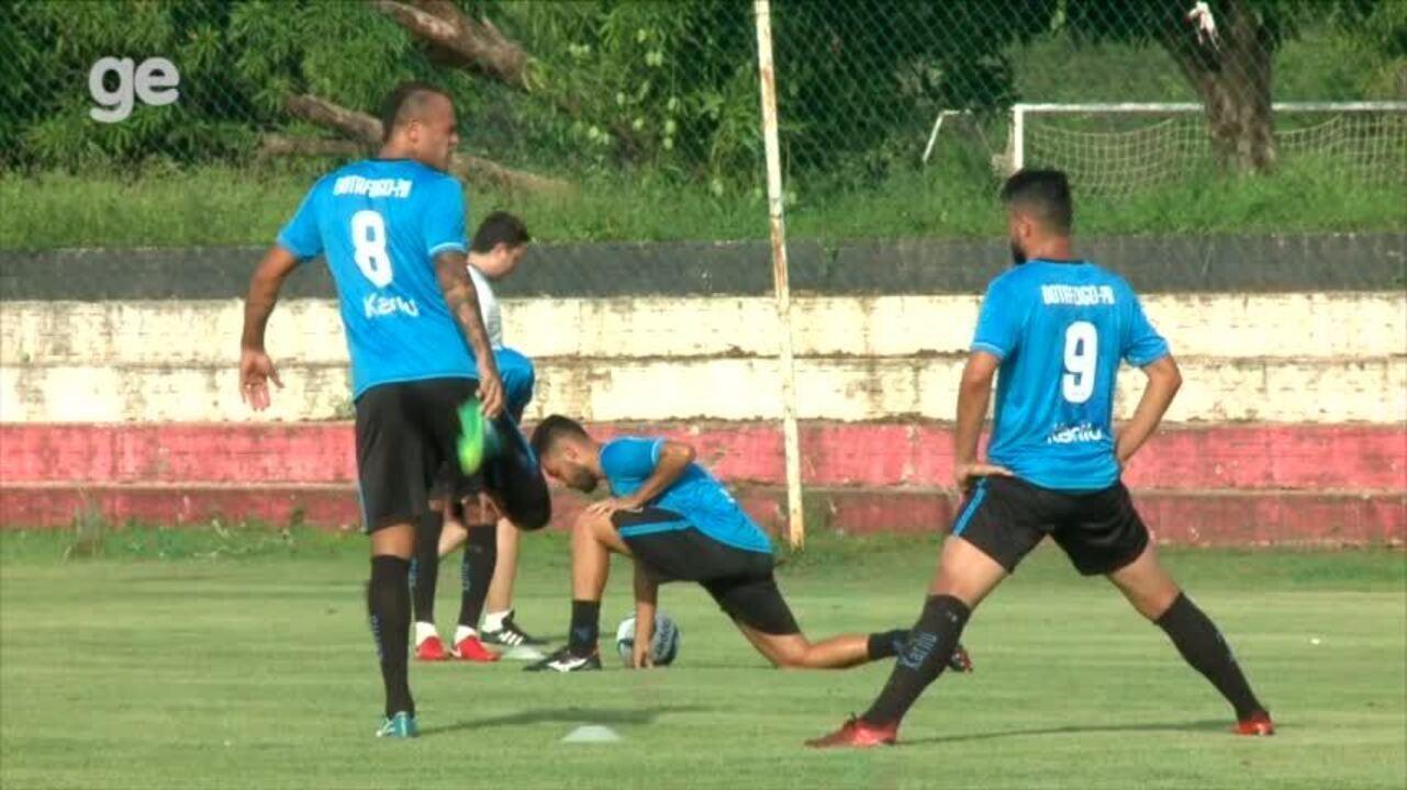 Botafogo-PB faz treino aberto no CT do River-PI antes de pegar o Altos pelo Nordestão