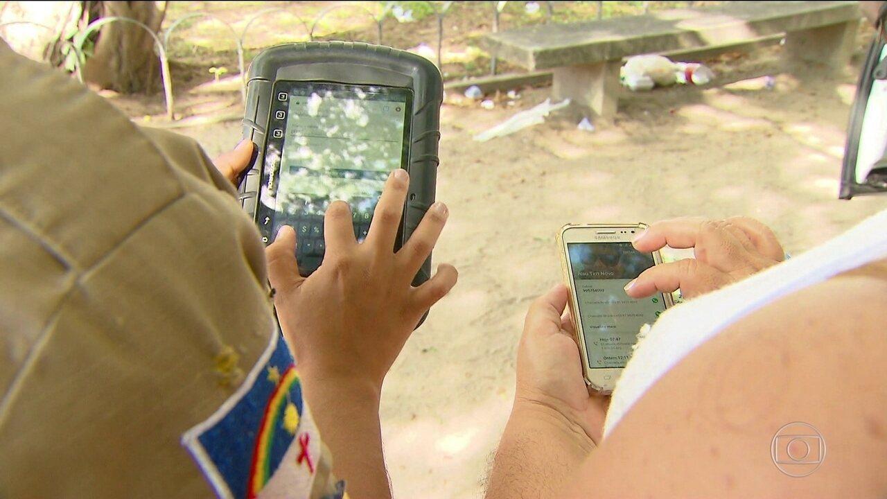 Banco de dados ajuda a devolver celulares recuperados pela polícia em PE