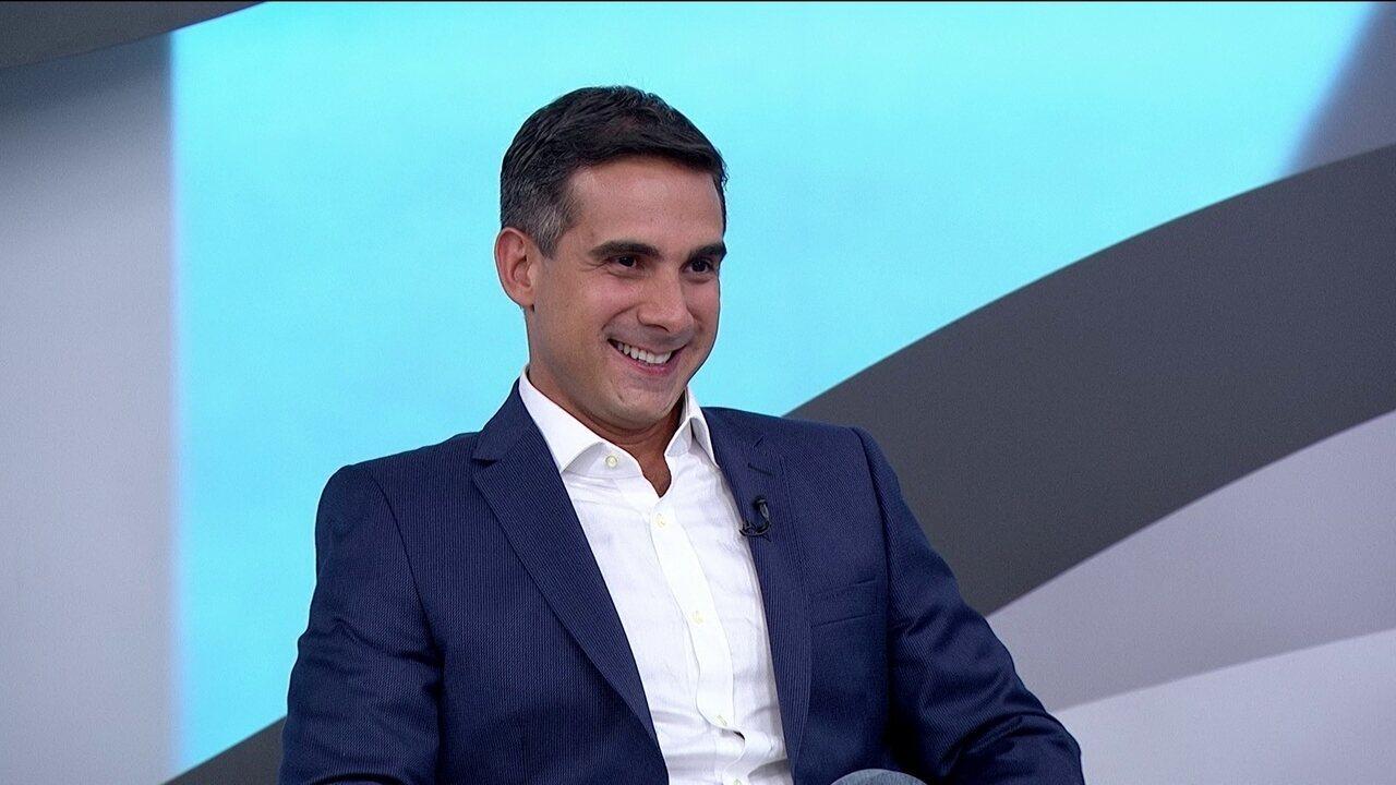 Galvão Bueno apresenta novo narrador da Rede Globo: Gustavo Villani