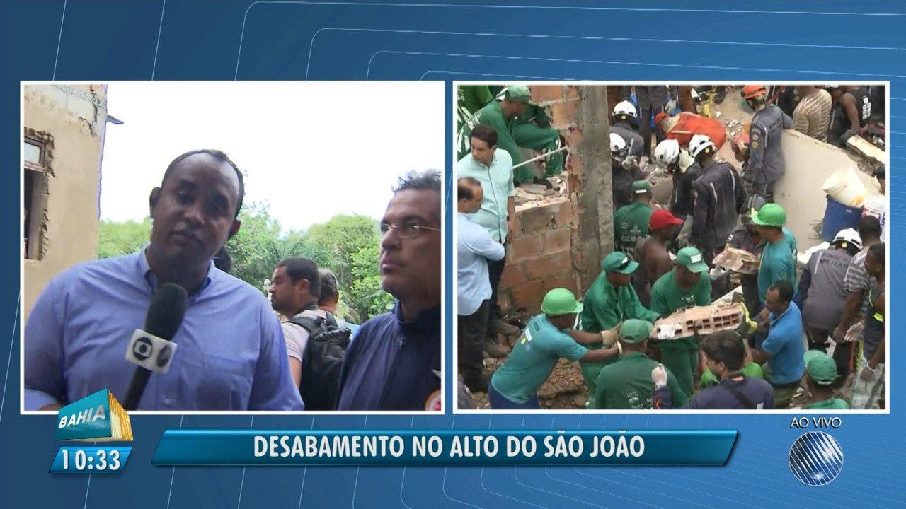 Segundo corpo é resgatado em tragédia no bairro de Pituaçu