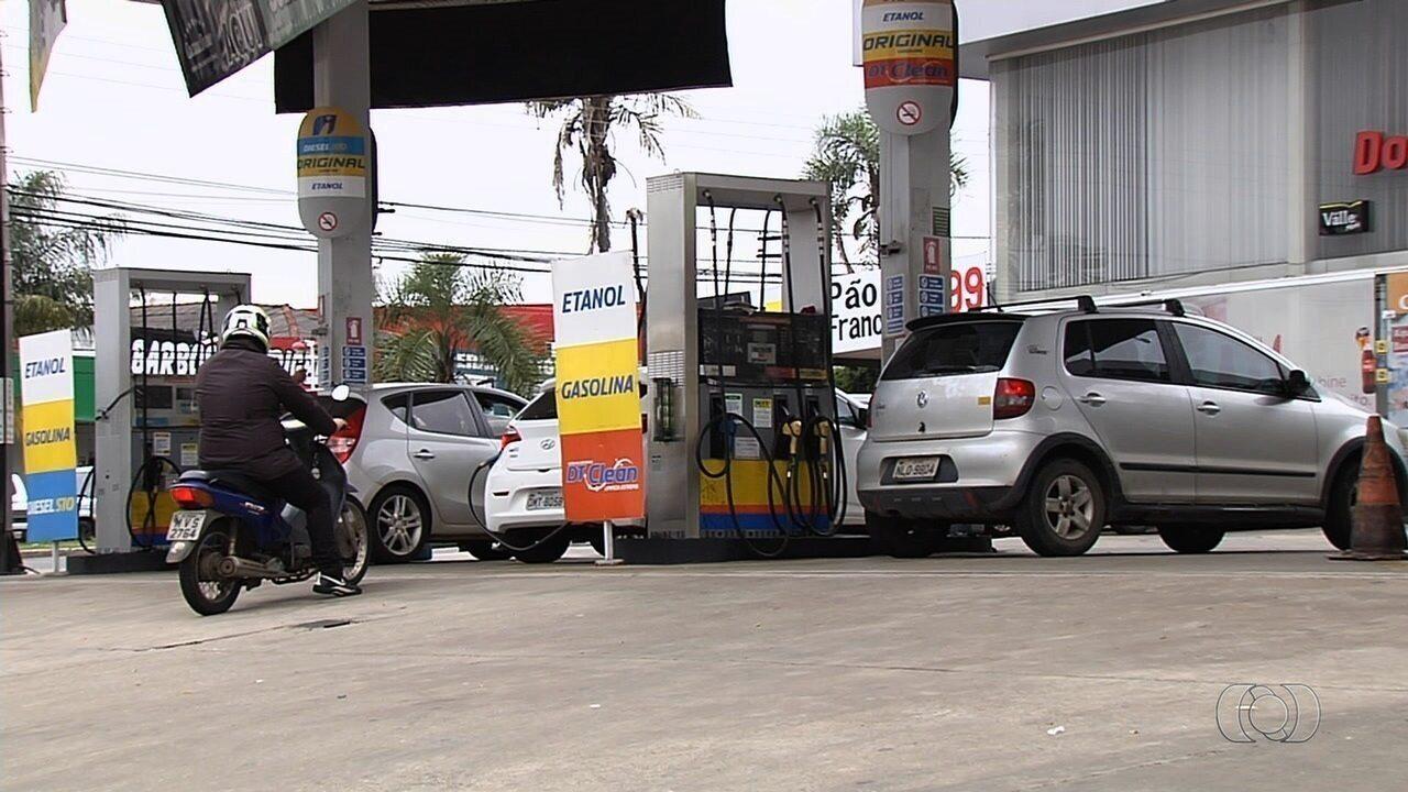 Motoristas reclamam do preço do etanol em Goiânia