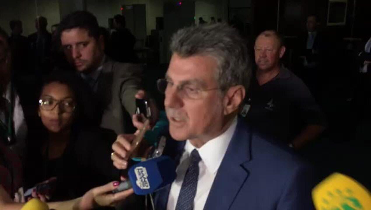 Réu no STF, Jucá diz estar 'tranquilo' e afirma que seguirá na liderança do governo