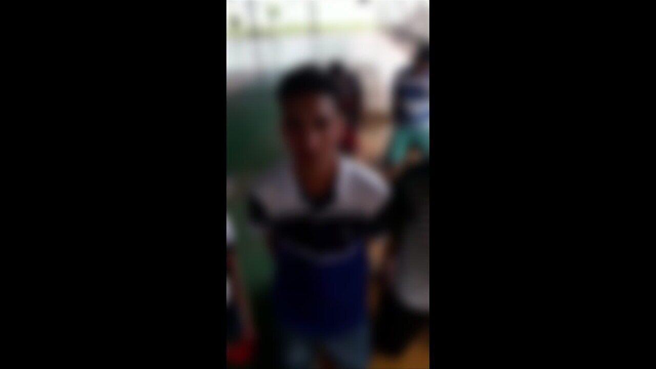 Vídeo de ameaças a alunos por supostos membros de facção criminosa