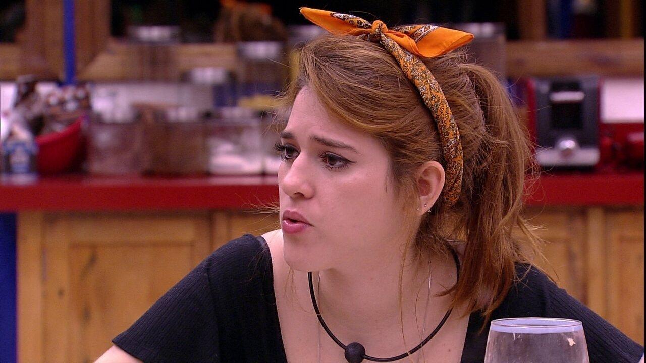Ana Clara revela para Gleici: 'Não sou uma pessoa sensata'
