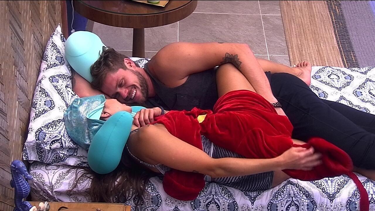 Breno diz a Paula que Diego sempre foi sua opção de voto