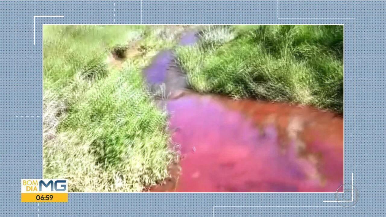 Prefeitura de Rio Casca diz que rejeito de minério chegou a ponto de captação de água