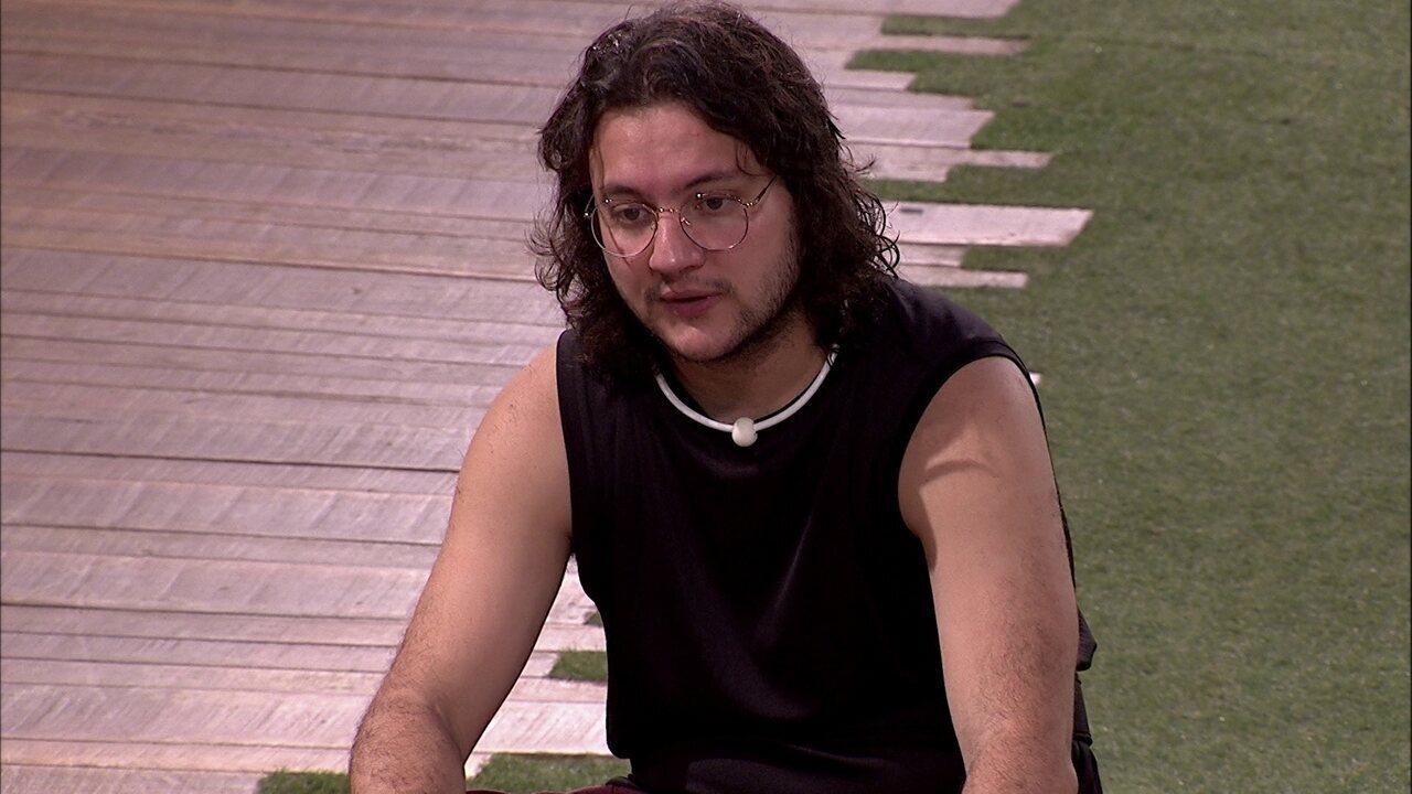 Diego sobre Gleici: 'Gritaram 'Leite' e ela disse que estavam gritando o nome dela'