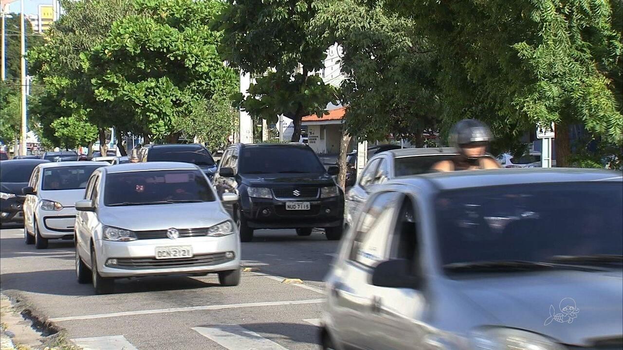 Cai o número de mortes no trânsito de Fortaleza