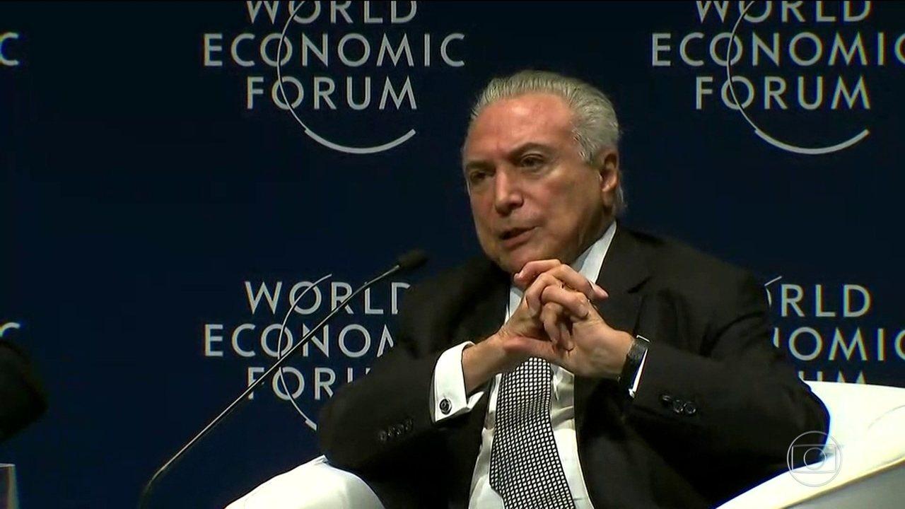 Brasil poderá ir à OMC contra tarifas de importação para os EUA, diz Temer