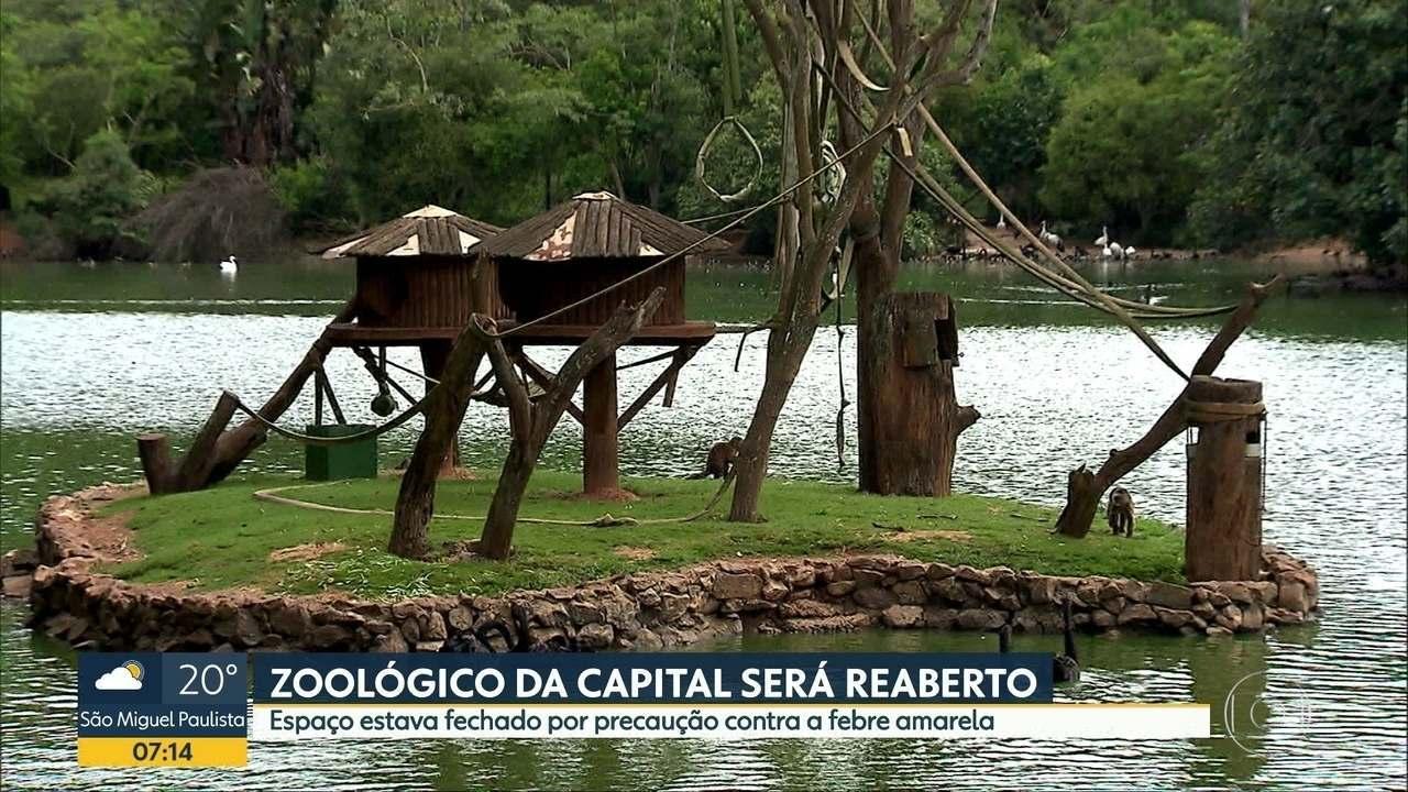Zoológico e Jardim Botânico de São Paulo são reabertos