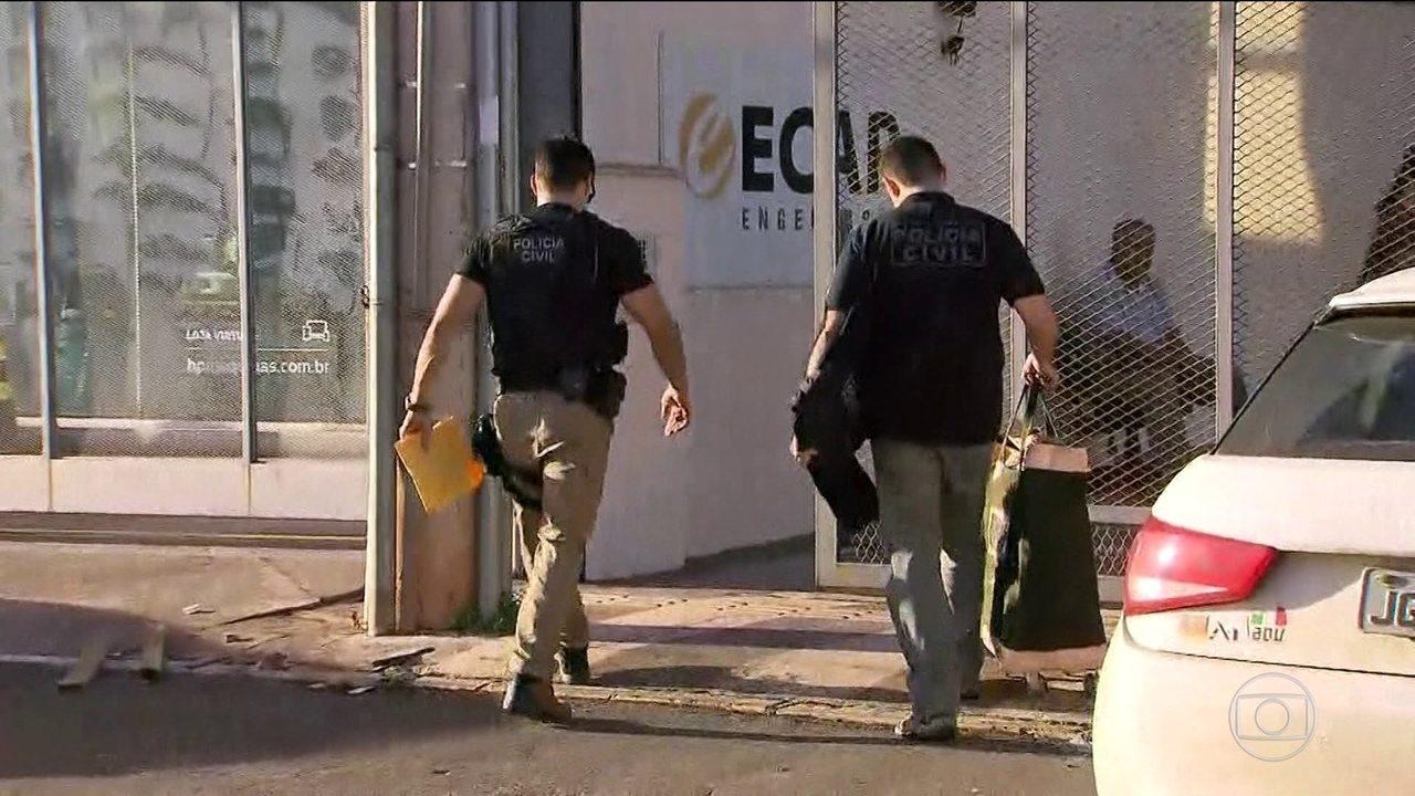 Polícia Civil e MP fazem operação contra fraudes no transporte público no DF