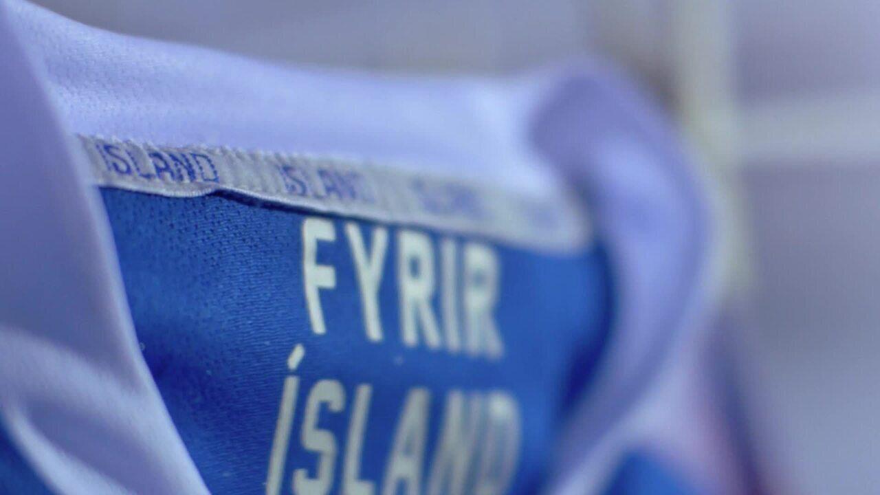 Confira o vídeo de lançamento do uniforme da Islândia para a Copa da Rússia