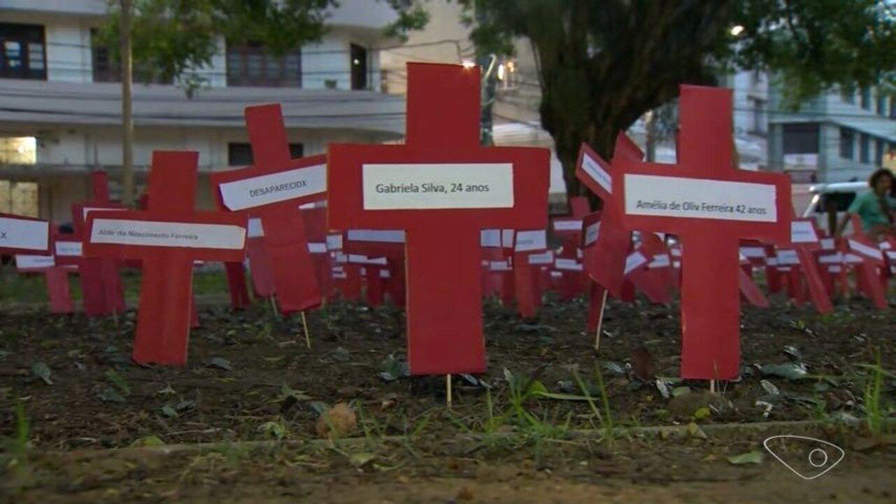 Marielle Franco tem morte lembrada em protesto no Centro de Vitória