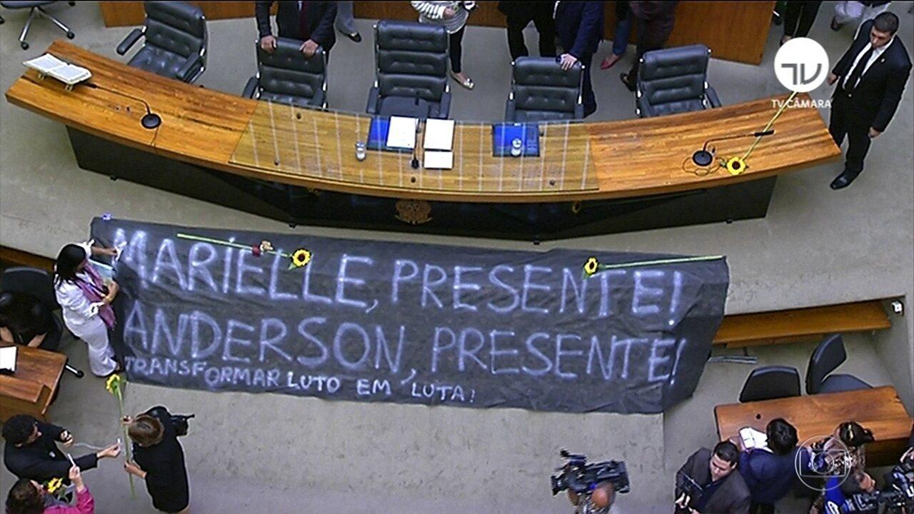 Autoridades dos três poderes repudiam assassinatos de Marielle Franco e Anderson Gomes