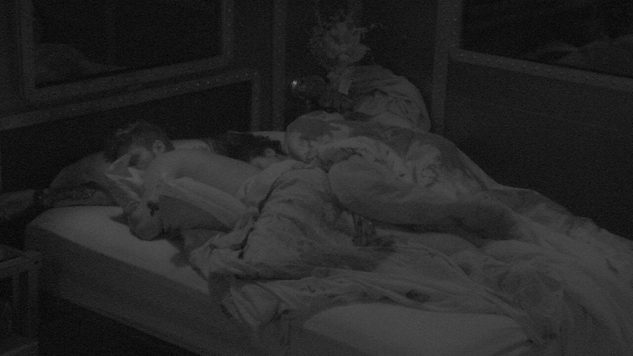 Após noite de Prova do Líder todos dormem no BBB18