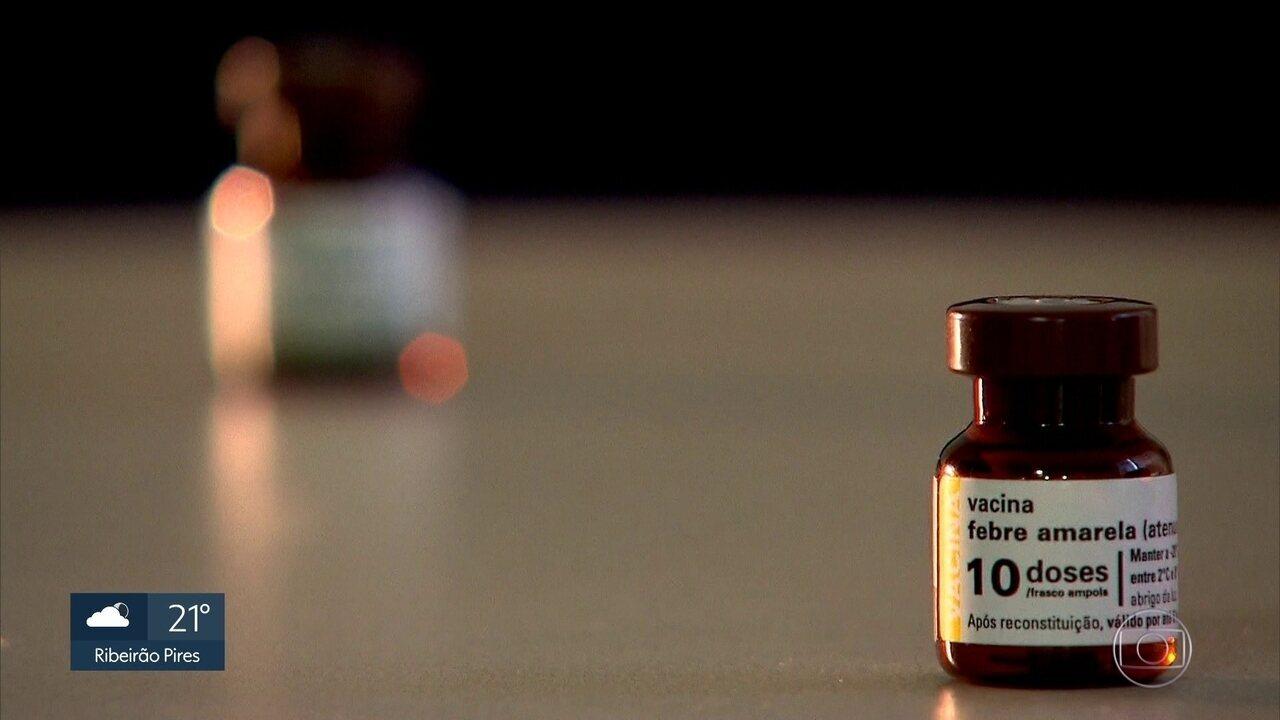 Vacina contra febre amarela pode ser tomada em todas UBS's em SP