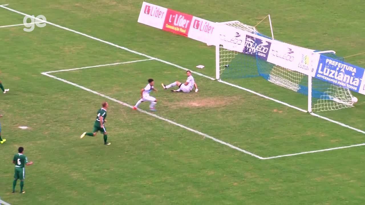 Os gols de Luziânia 1 x 1 Gama pelas quartas de final do Campeonato Brasiliense
