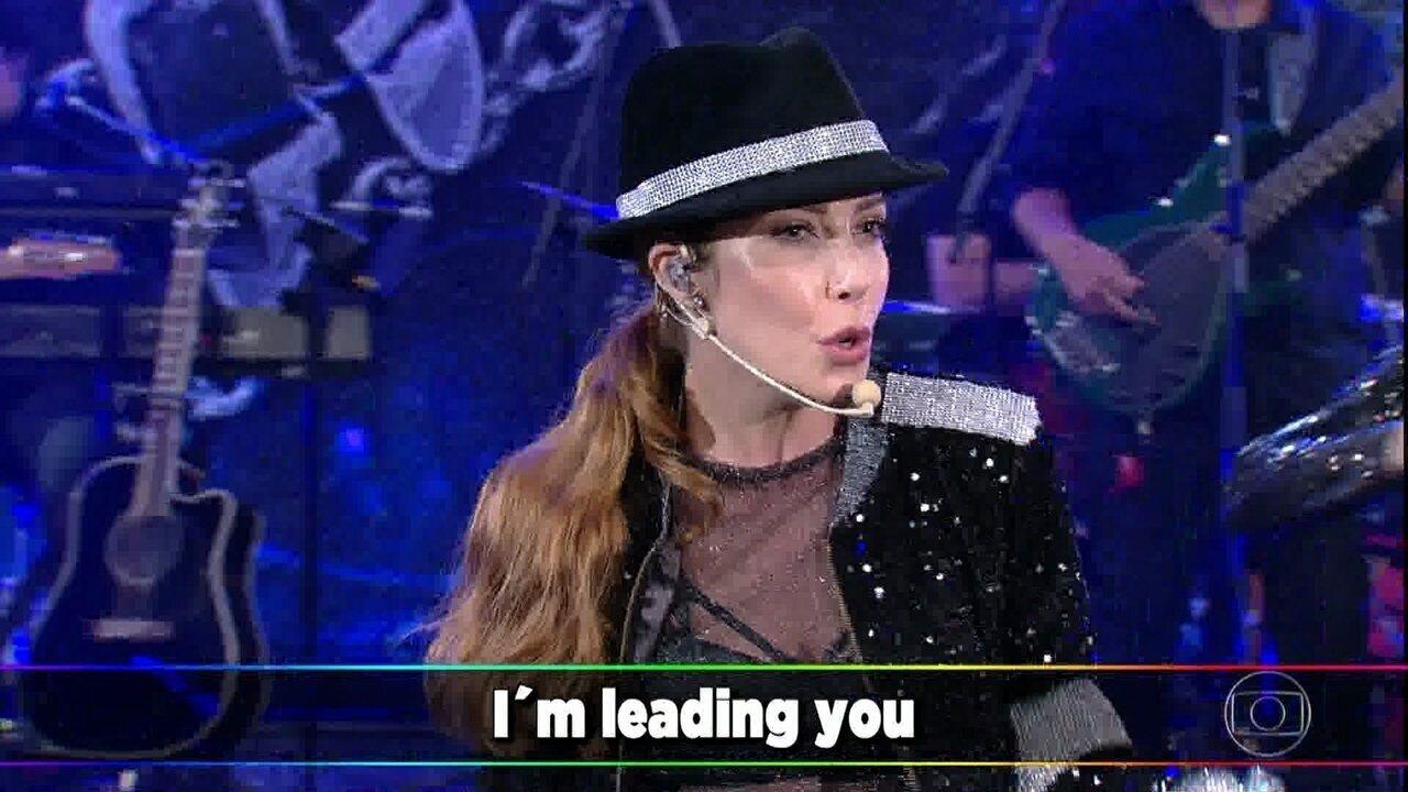 Luiza Possi canta 'Bad'