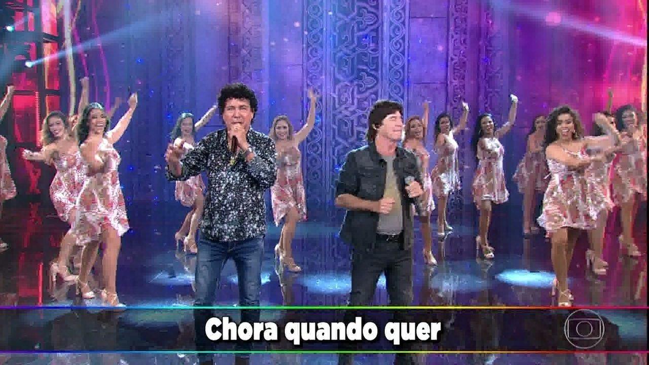 Teodoro e Sampaio cantam 'Mulher Chorona'
