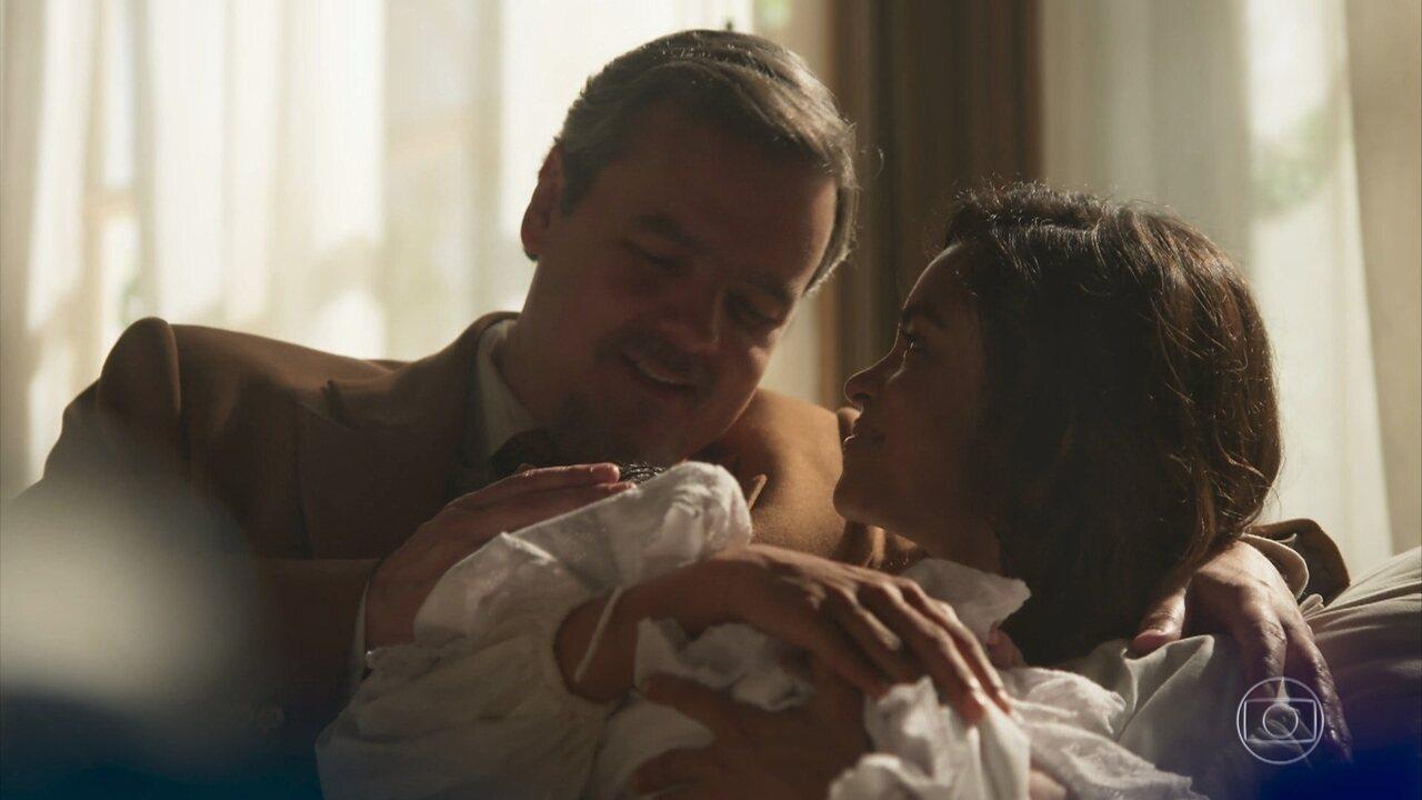 Nasce o bebê de Eunice e Reinaldo